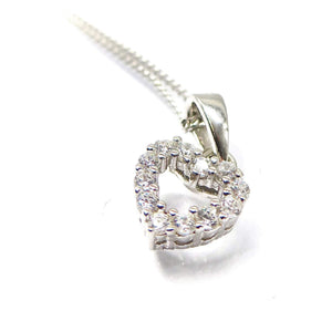 Fine Global Pendant 925 Sterling Silver Pendant With Cubic Zirconia- Classic Jewelry For Every Woman, F.I.N.E, Love 4897069901258 sterling 925 silver jewellery