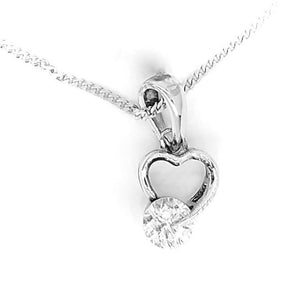 Fine Global Pendant 925 Sterling Silver Pendant with Cubic Zirconia at Reasonable Price, F.I.N.E, Love 4897069901319 sterling 925 silver jewellery