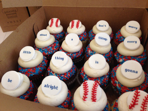 Don't Worry! Red Sox Cupcakes! From $48