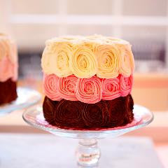 Romantic SWEET Roses Cake for Two!