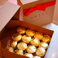16 Karat SWEET Cupcakes! Worth your love in edible gold leaf! ♥ $160
