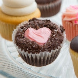 SWEET Box of Beloved Brownie Cupcakes! With a Buttercream Frosting Heart! ♥ From $36! ♥ AVAILABLE FEB 8-15 ♥