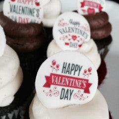 SWEET Happy Valentine's Day Cupcakes! From $48