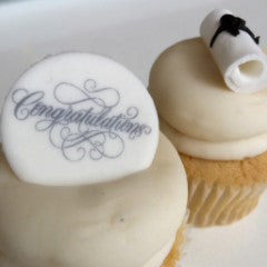 SWEET Congratulations Graduate Cupcakes! From $48