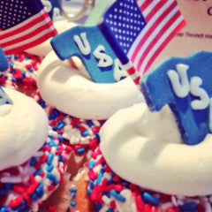 Team USA Cupcakes! 2016 Olympic Cupcakes!