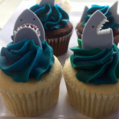 SWEET Get Out of the Water Cupcakes!