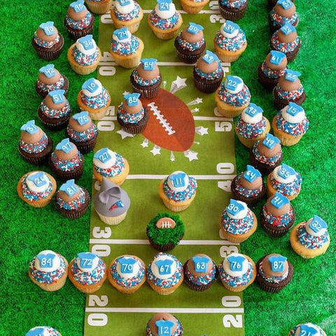 The Owner's Sweet! Patriots Super Cupcake Extravaganza