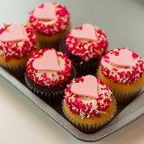 SWEET Heart Cupcakes! From $48