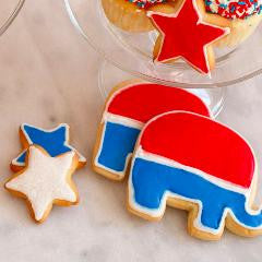 Sweet Election Cookies! Republican Party Theme!