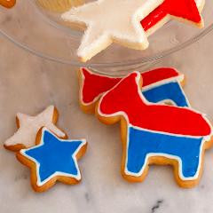 Sweet Election Cookies! Democratic Party Theme!