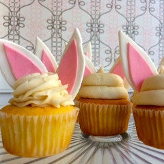 SWEET Easter Bunny Ears Cupcakes!