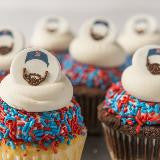 FEAR THE BEARDS! Red Sox Cupcakes! From $51