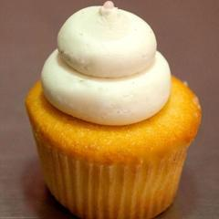 Vanilla Bean Sweet Cupcake with Vanilla Buttercream frosting