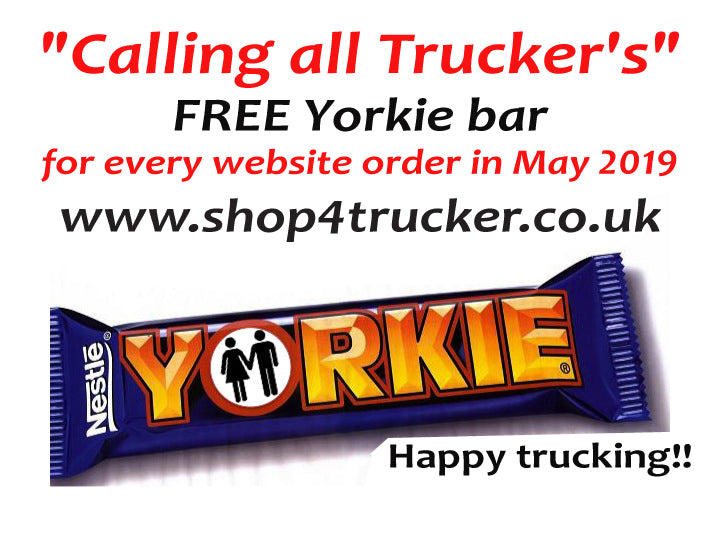 FREE Yorkie Nestle chunky milk Chocolate bar.