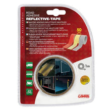 Load image into Gallery viewer, Truck lorry trailer motorcycle motorhome silver reflective tape 1m x 50mm - Shop4trucker