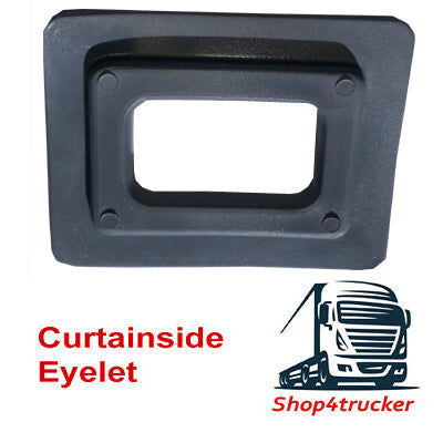 Truck Lorry HGV Eyelet for Curtainsiders Curtain Siders Trailers in light grey - Shop4trucker