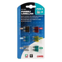 Load image into Gallery viewer, Trucks van fuse set of 6 12 volt 24 volt 7.5A 15A 10A 20A 25A 30A - Shop4trucker