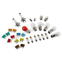 Load image into Gallery viewer, HGV lorry truck Coach Bus H4 24v emergency bulb kit 30 piece with spare fuses - Shop4trucker