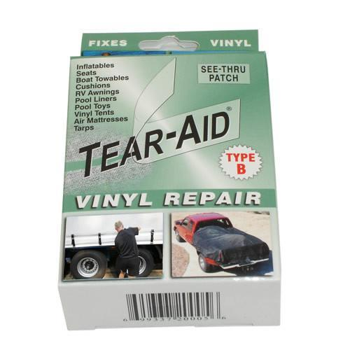 Truck Lorry HGV Repair Kit for Curtainsiders Curtain Siders Tarps Clear Patches - Shop4trucker