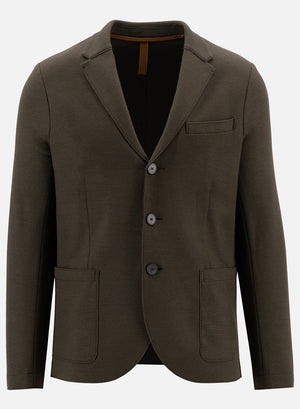 Vented blazer superfine merino
