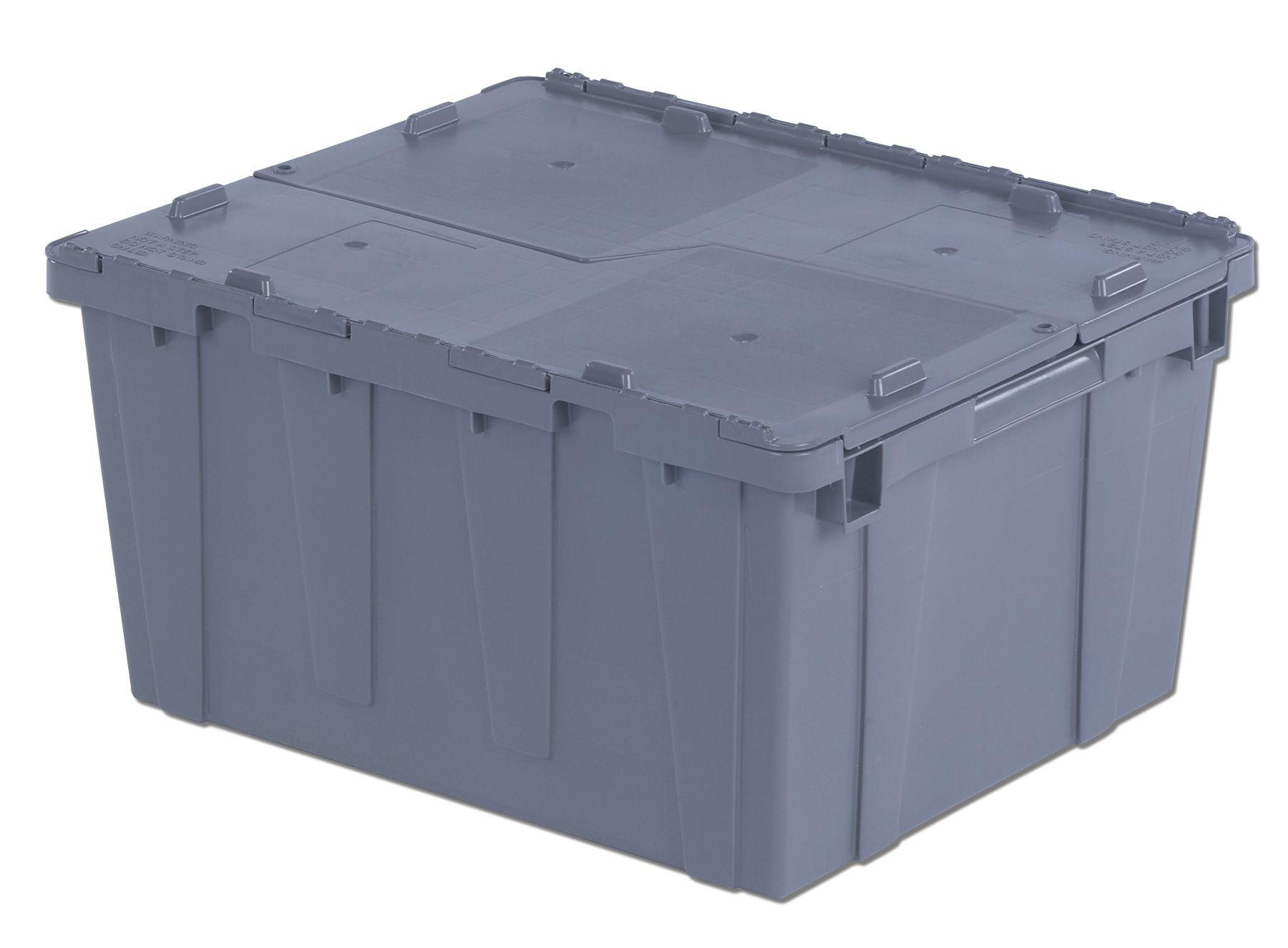 FP261 Flipak Container | 24x20x12 Attached Lid Container