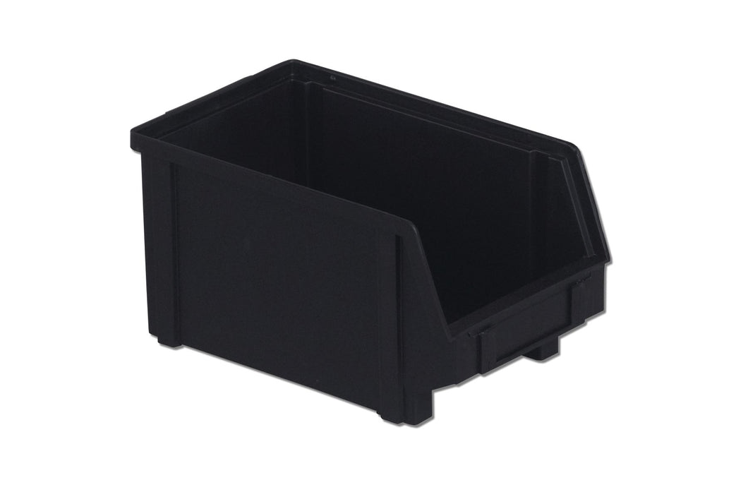PB30-FXL | 10X6X5 ESD PlastiBox Container | Pack of 12