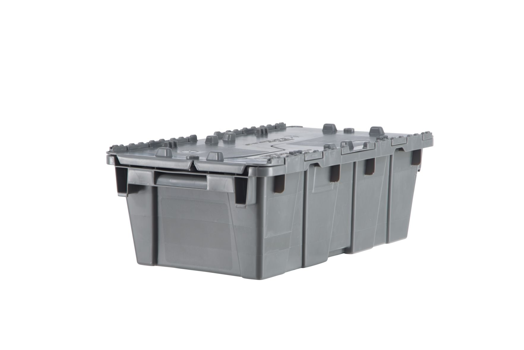 FP075 Flipak Container | 20x12x9 Attached Lid Container