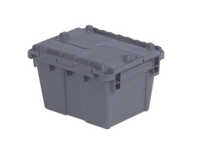 FP03 Flipak Container | 12x10x8 Attached Lid Container