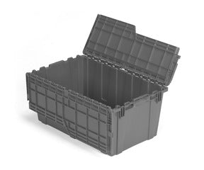 FP243 Flipak Container | 27x17x12 Attached Lid Container