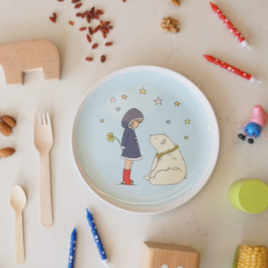Illustrated Plate - Penny and Ruby
