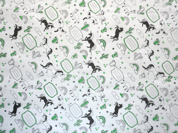 Sandwich Wrapping Paper (Green) 100 Pack