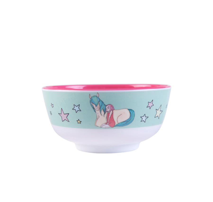 Illustrated Bowls - set of 4