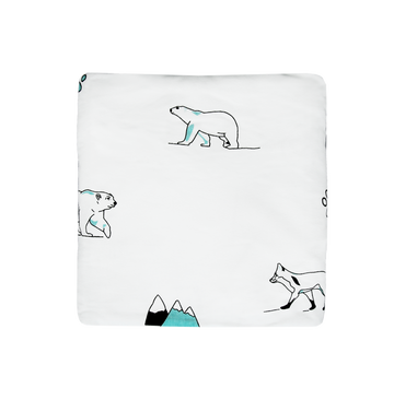 Fitted sheet - North Pole (AQUA)