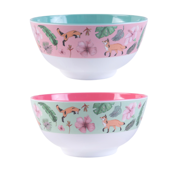 Illustrated Bowls - set of 2