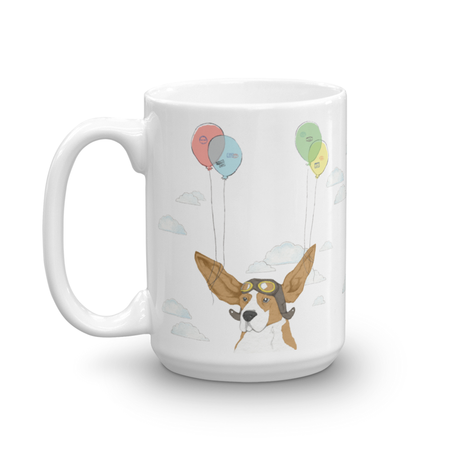 Ceramic Mug - Flying Dog
