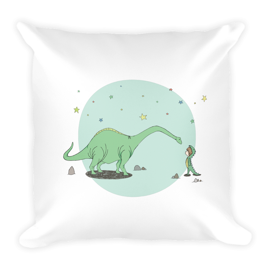 Throw Pillow - Tom and Max