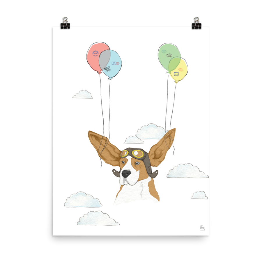 Flying Dog - Poster