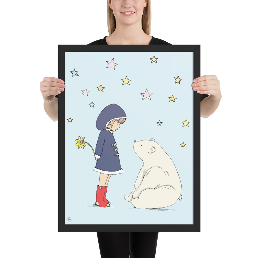 Penny and Ruby - Framed poster