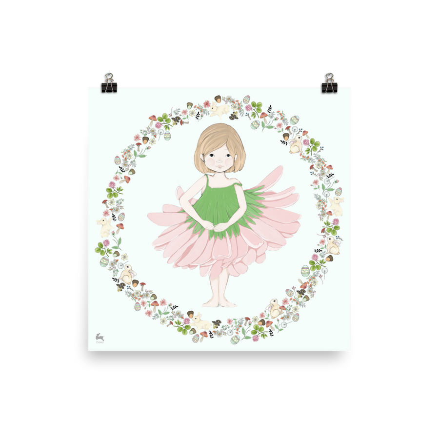 Penny in Ballet Dress - Matte Poster