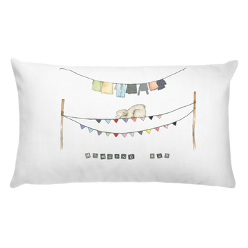 Throw Pillow - Bear Cub Hanging Out