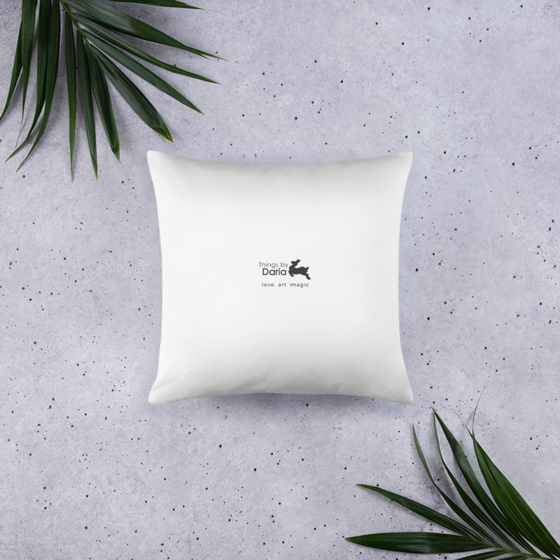 Throw Pillow - Tea in the Forest Glades
