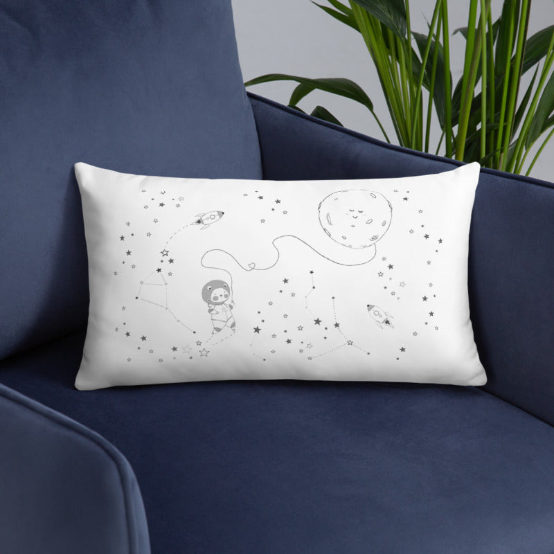 Throw Pillow - Space Adventure