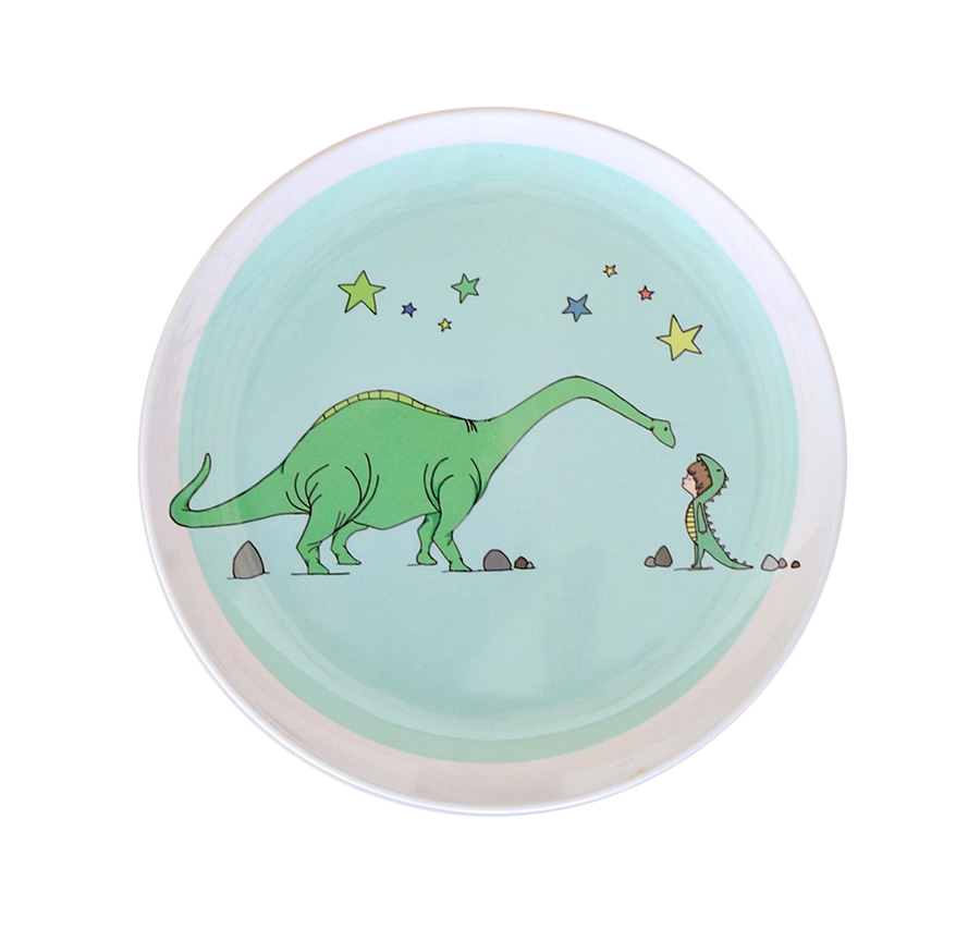 Illustrated Plates - set of 4