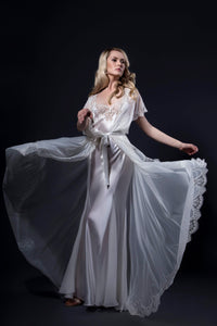 Hollywood Style Silk Negligee
