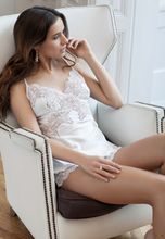 Load image into Gallery viewer, Italian Lace Shorts & Cami Set