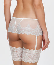 Load image into Gallery viewer, Silver Embroidered Boyshorts