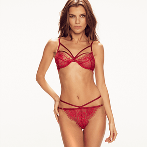 Forever Soft Cup Bra in Red