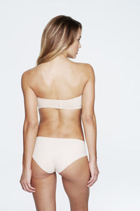 Strapless Smooth Bra with Hidden Boning in Light Nude