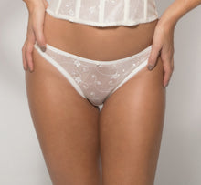 Load image into Gallery viewer, Lace Briefs in Bone