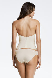 Seamless Corset in Bone